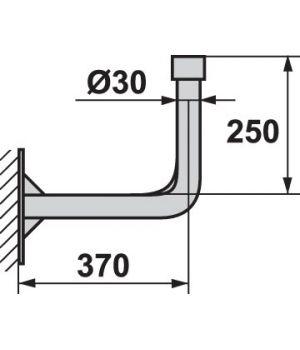 Кронштейн для крепления антенн 0,38м
